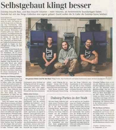Tengu im Tagblatt